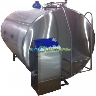 Танк охладитель молока (закрытого типа) 6000л