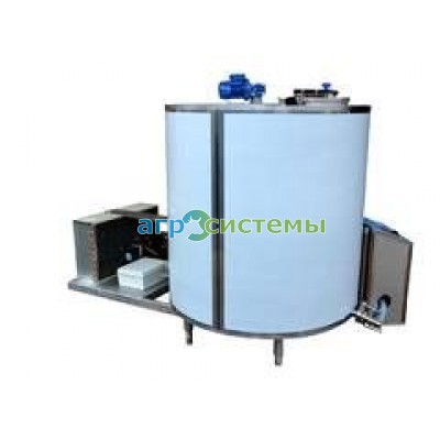 Танк охладитель молока (закрытого типа, вертикальный) 1500л