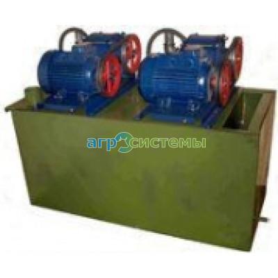 Вакуумная водокольцевая установка НВМ-70-2 на 200 голов